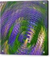Lupine Swirl Acrylic Print