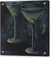 Lurking Olives Acrylic Print