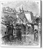 Luxembourg, 19th Century Acrylic Print