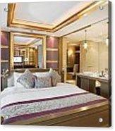 Luxury Bedroom Acrylic Print