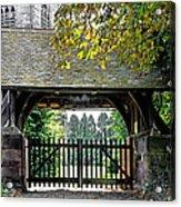 Lychgate To St Paul's Church - Scropton Acrylic Print