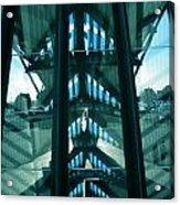 Lyon Gare France Architecture Acrylic Print