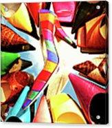 M-m-m My Stilettos Acrylic Print