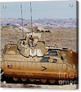 M2 Bradley Fighting Vehicle Acrylic Print