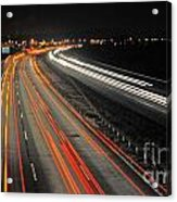 M5 At Night Acrylic Print