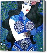 Ma Belle Salope Chinoise No.11 Acrylic Print