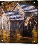 Mabry Mill Acrylic Print