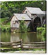 Mabry Mill  Virginia Acrylic Print