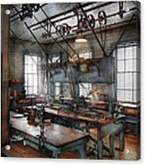 Machinist - Steampunk - The Contraption Room Acrylic Print