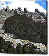 Machu Picchu Peru 12 Acrylic Print