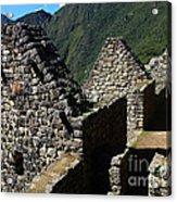 Machu Picchu Peru 8 Acrylic Print