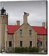 Mackinaw City Lighthouse Number 2446 Acrylic Print