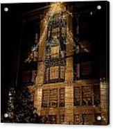Macy's Ny Christmas Lights Acrylic Print
