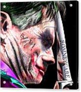 Mad Men Series 2 Of 6 - Romney The Joker Acrylic Print