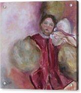 Madame Alexander Cisette Doll Acrylic Print by Susan Hanlon