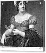 Madame De Sta�l (1766-1817) Acrylic Print