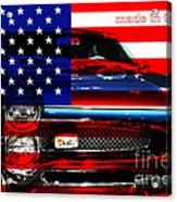 Made In The Usa . Pontiac Gto Acrylic Print