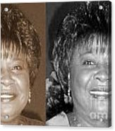 Madge's Sister Aunt Shirley Acrylic Print