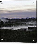 Madison River Morning At Baker's Hole Acrylic Print