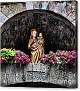 Madonna And Child Arch Acrylic Print