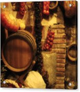 Madrid Food And Wine Still Life II Acrylic Print