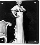 Mae West, Ca. 1930s Acrylic Print by Everett