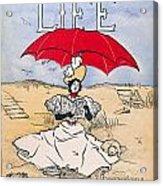 Magazine: Life, 1897 Acrylic Print