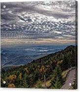 Magic Autumn Morning Acrylic Print by Daniel Lowe