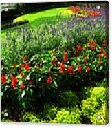 Magic Kingdom Garden Acrylic Print