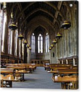 Magic Library Acrylic Print by Silvie Kendall