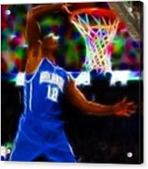 Magical Dwight Howard Acrylic Print by Paul Van Scott