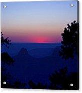 Magical Evening - Grand Canyon Acrylic Print