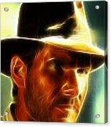 Magical Indiana Jones Acrylic Print