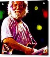 Magical Jerry Garcia Acrylic Print