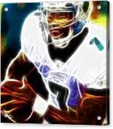 Magical Michael Vick Acrylic Print by Paul Van Scott