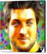 Magical Tim Tebow Face Acrylic Print