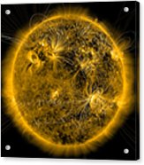 Magnetic Field Lines On The Sun Acrylic Print
