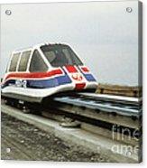 Magnetic Levitation Train Acrylic Print