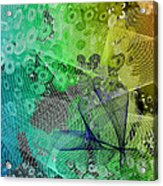 Magnification 5 Acrylic Print