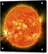 Magnificent Coronal Mass Ejection Acrylic Print