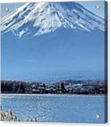 Magnificent Mt Fuji Acrylic Print