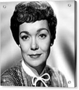 Magnificent Obsession, Jane Wyman, 1954 Acrylic Print by Everett