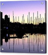 Magnificent Vancouver Sunset Acrylic Print by Will Borden