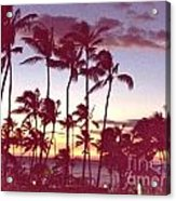 Mahalo For This Day Acrylic Print