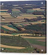 Mahantango Creek Watershed, Pa Acrylic Print
