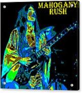 Mahogany Rush Seattle 1978 B Acrylic Print