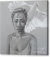 Maiden Peace Acrylic Print by Kathryn Donatelli