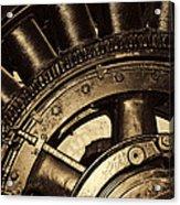 Main Generator Wheel Acrylic Print