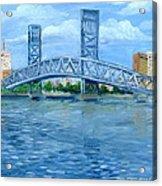 Main Street Bridge Acrylic Print