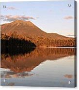 maine 25 Baxter State Park Mt. Khatahdin Reflection in Daicey Pond Acrylic Print